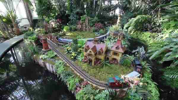 Holiday Train Show a New York
