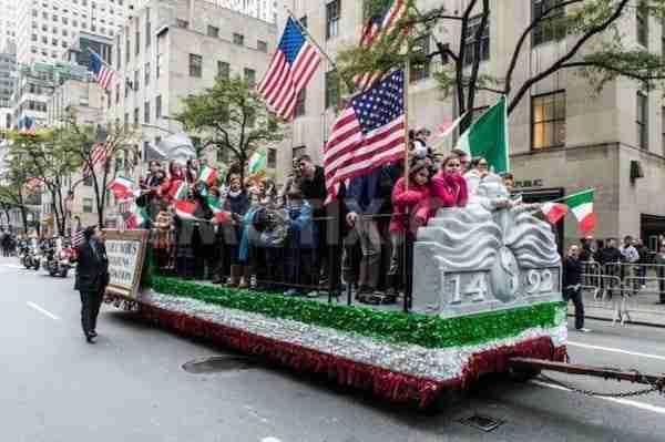 La sfilata per il Columbus Day a New York
