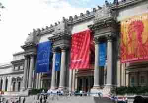 L'ingresso del Metropolitan Museum a New York