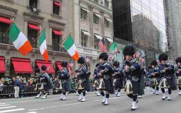 St. Patrick's Day a New York