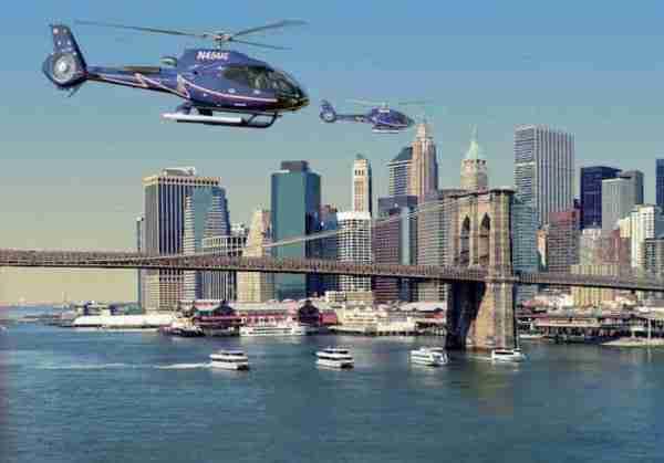 Tour in elicottero di New York