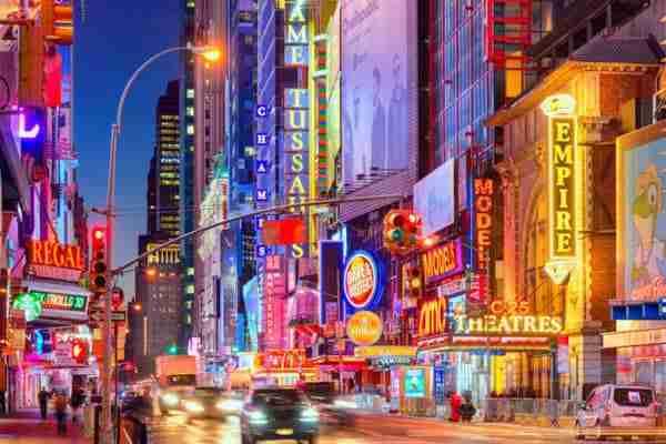 Dove dormire a Times Square