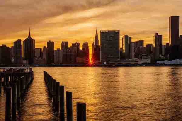 Manhattanhenge: quando sarà nel 2018