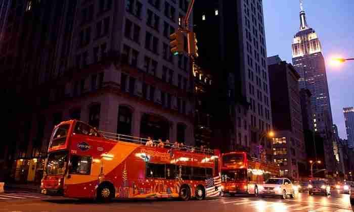 Tour notturni di New York