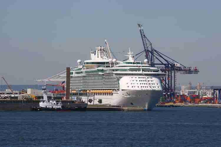 Royal Caribbean al porto di Bayonne