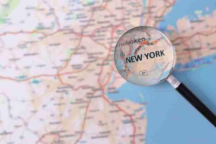 Cartina America New York.Dove Si Trova New York La Geografia Della Citta