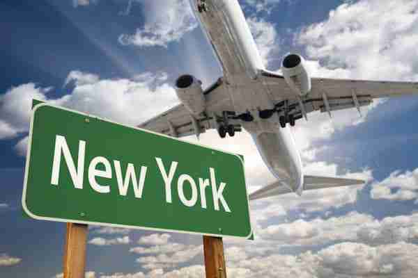 Ore di volo dall'Italia a New York