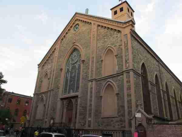 Saint Patrick's old cathedral, Nolita
