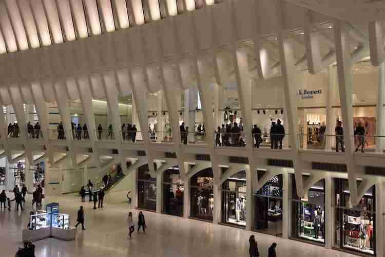Centro commerciale Westfield al World Trade Center