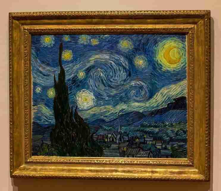 La notte stellata di Van Gogh, al Moma