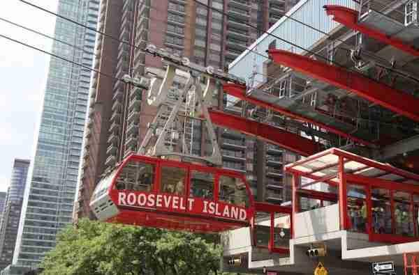 Visitare Roosevelt Island col tramway