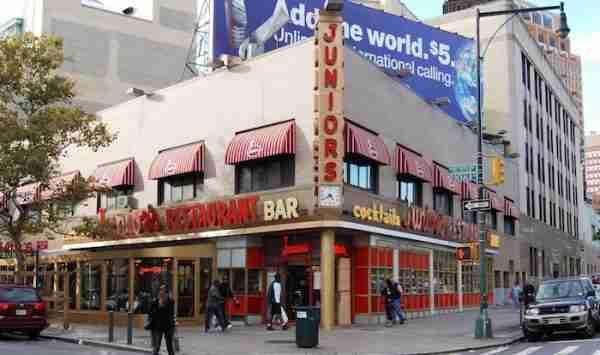 Dove mangiare a Times Square