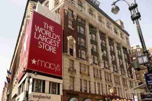 Grandi magazzini a New York