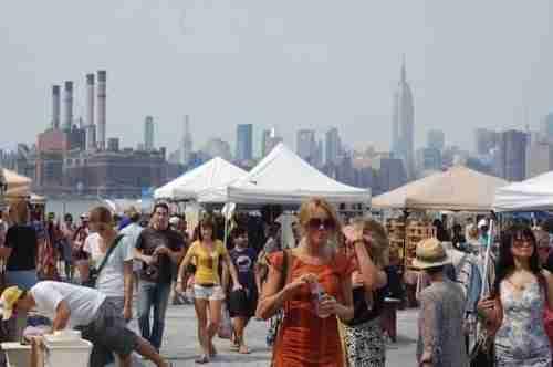 Mercatini delle pulci a New York