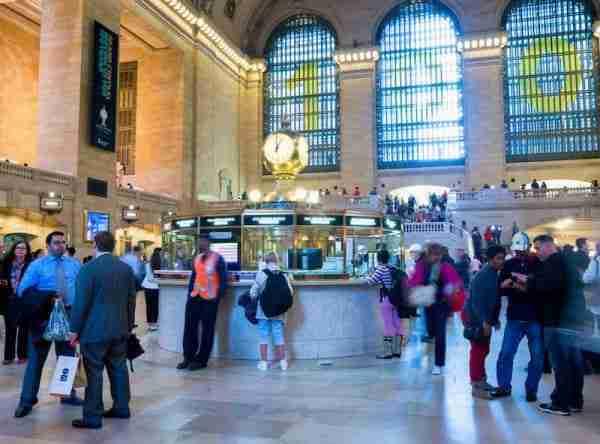 Orologio nel Main Concourse Grand Central Station