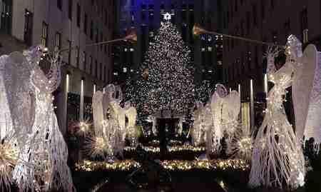 L'albero di Natale al Rockefeller Center