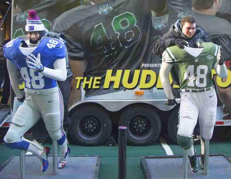 Giants e Jets sono rivali in casa