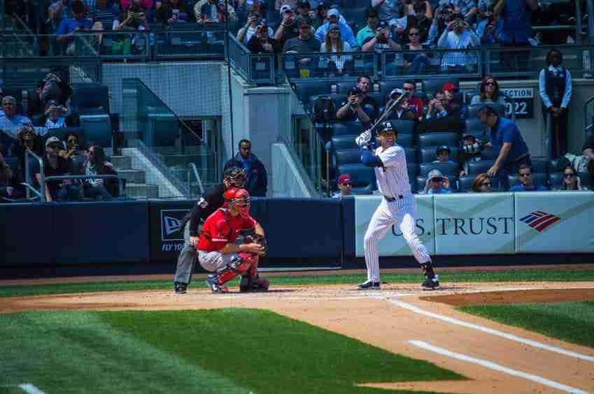 Una partita degli Yankees