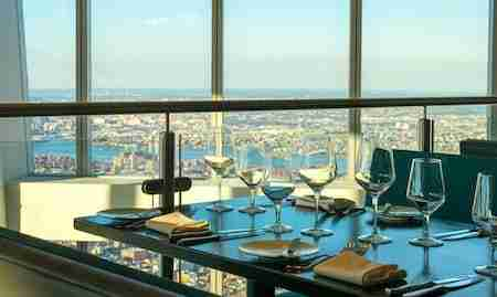 I migliori ristoranti panoramici a New York