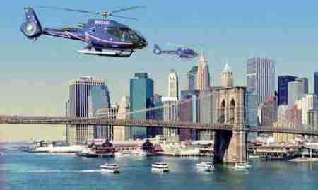 Giro di New York in elicottero
