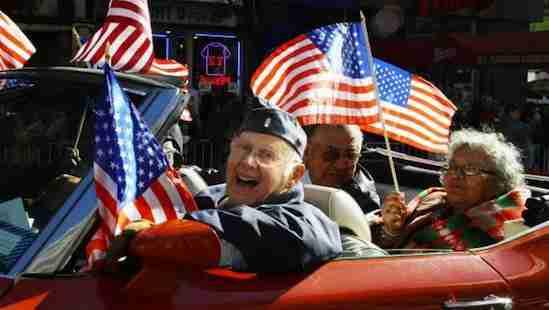 Veteran's Day a New York