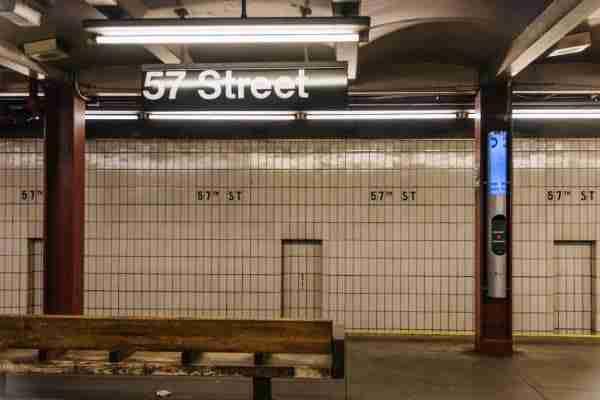 Stazione della metro 57 Street
