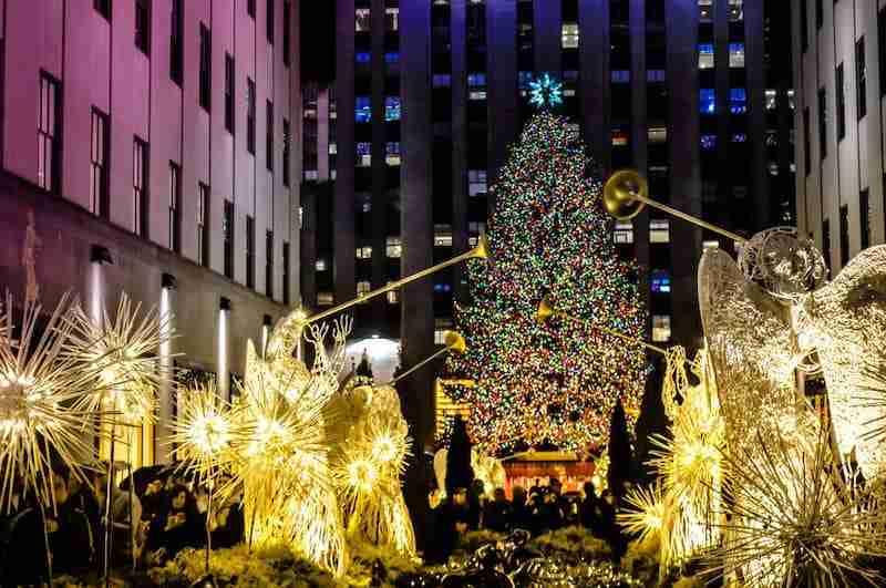 Albero Di Natale New York.10 Motivi Per Trascorrere Il Natale A New York