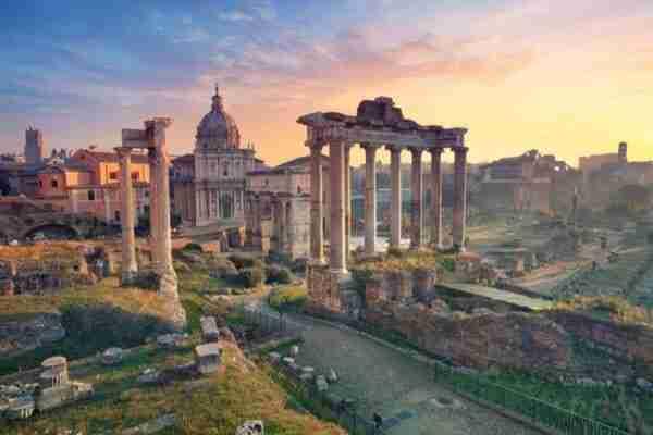 Il foro Romano, Roma