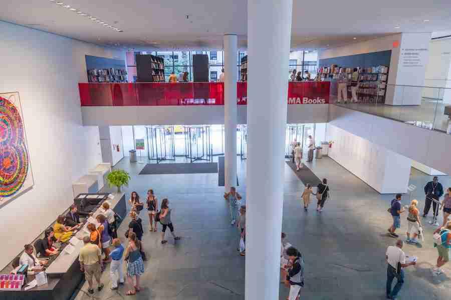 L'interno del MoMA a New York